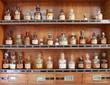 Leinwanddruck Bild - medicamentos antiguos farmacia 7226-f14