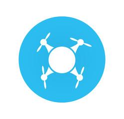 Flat Quadrocopter Icon