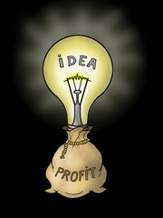 Idea makes sack of money