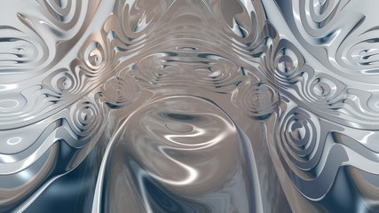 Animation of a surreal abstract Structure