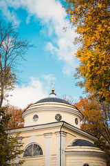 Old church, which was visited by russian writer Ivan Turgenev. R