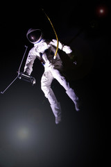 Spaceman travelling