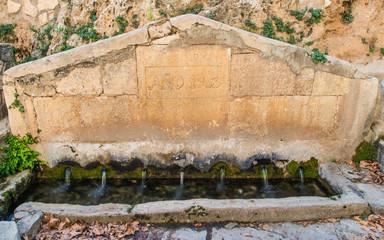 Fuente Vieja en Ademuz. Valencia. España