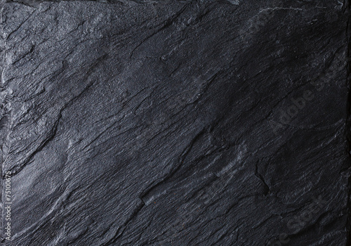 Leinwanddruck Bild black stone