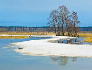 Sukhodrev river, Kaluga region, Russia