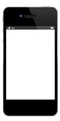 Smartphone display vuoto