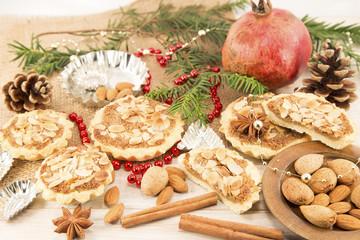 Almond tarts