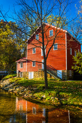 The historic Cross Mill, in rural York County, Pennsylvania.