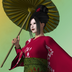 Geisha Melissa Su