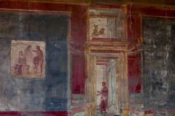 Murals in Pompeii