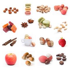 composition fruits et desserts