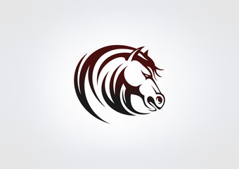 horse Busines Icon Animal Symbol Energy Power Brand