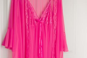 Pink See Through Nightie in Sleepwear