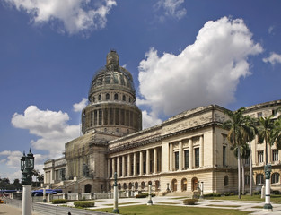 National Capitol Building (El Capitolio) in Havana. Cuba