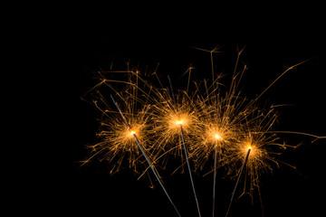 burned sylvester sparklers