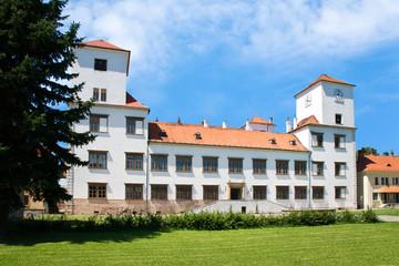 renaissance Bucovice castle, Moravia, Czech republic