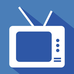 Logo tv, télévision.