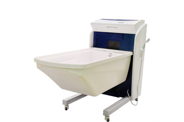 The balneotherapy bath isolated