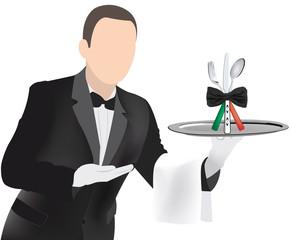 cameriere gentile