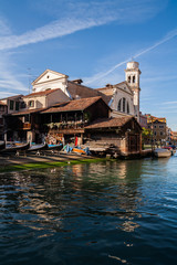 Squero di San Trovaso, Venezia, Veneto, Italia