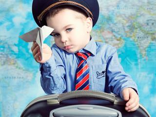 Юный летчик.
