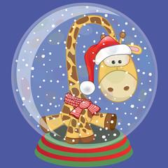 Santa Giraffe