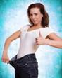 Daumen hoch zur erfolgreichen Diät