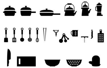 キッチンツール キッチン用品 調理器具 アイコン