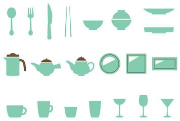 食器 キッチン用品 アイコン