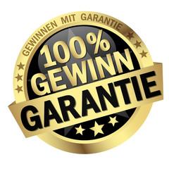 Button - 100% Gewinn Garantie