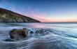 Sunset at Hemmick Beach