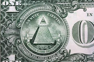 us dollar in macro shot..