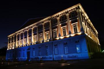 palais de justice de nuit - chambéry