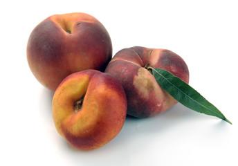 Chinese flat peaches nectarine