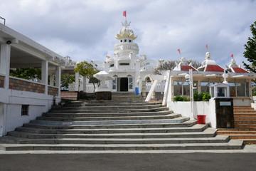 Mauritius, picturesque village of Flacq