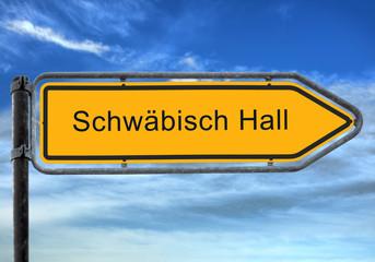 Strassenschild 26 - Schwäbisch Hall