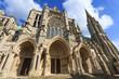 La cathédrale Notre de Dame de Chartres ,en France - 75127851