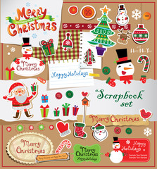 Christmas scrapbook set.