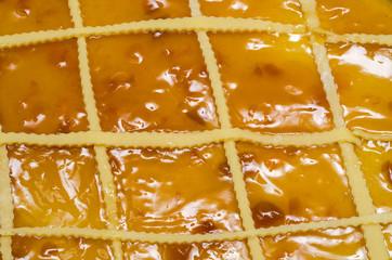 torta crostata con marmellata di frutta