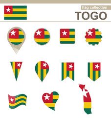 Togo Flag Collection