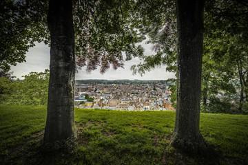 Citadel of Namur in Walloon Region, Belgium