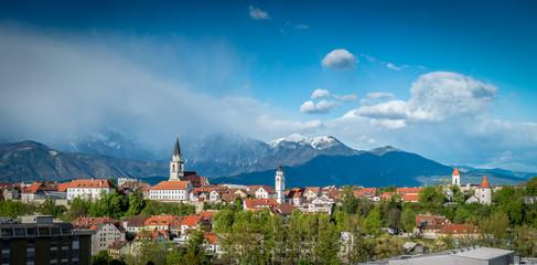 Kranj, Slovenia - Panorama view