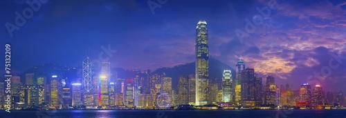 Foto op Aluminium Hong-Kong Hong Kong Panorama.