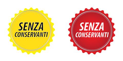 SENZA CONSERVANTI