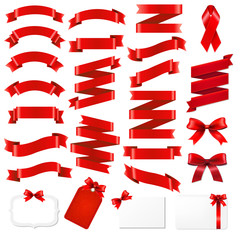 Red Ribbons Big Set
