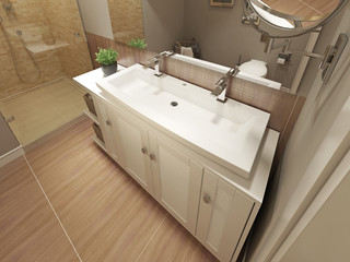 Bathroom Vanities Sink Consoles modern style