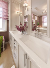 Bathroom Vanities Sink Consoles in classic style