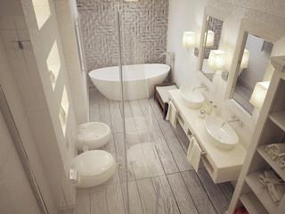 bathroom classic style