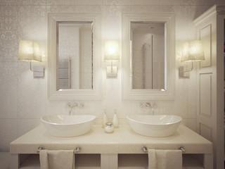 Bathroom sink consoles modern style