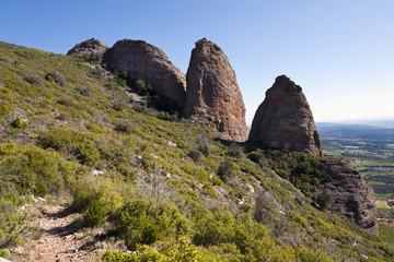Los Mallos de Riglos. Aragón. España